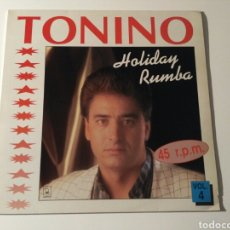 Discos de vinilo: TONINO - HOLIDAY RUMBA. Lote 108328235