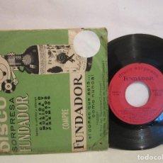 Discos de vinilo: REGOLÍ Y SU ORQUESTA CANTA RAUL NAVARRO - CANCIONES FAVORITAS - EP - 1965 - VG. Lote 221756045