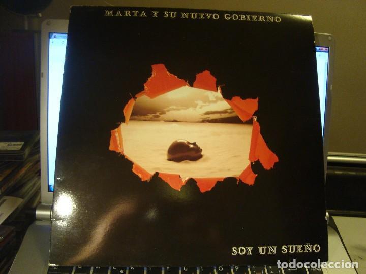 RAR LP 33. MARTA Y SU NUEVO GOBIERNO. SOY UN SUEÑO. (Música - Discos - LP Vinilo - Rock & Roll)