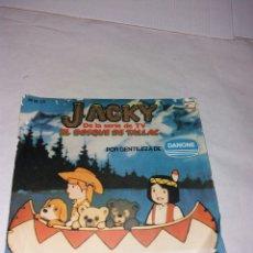 Discos de vinilo: DISCO JACKY EL BOSQUE DE TALLAC. Lote 108360818