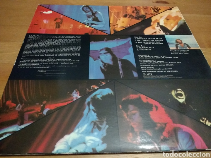 Discos de vinilo: Genesis - Live - - Foto 2 - 108362936