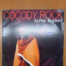 Discos de vinilo: ALPHA BLONDY ‎- COCODY ROCK - VINYL, 12, 45 RPM - FRANCE 1993 REGGAE - BUEN ESTADO. Lote 108365683
