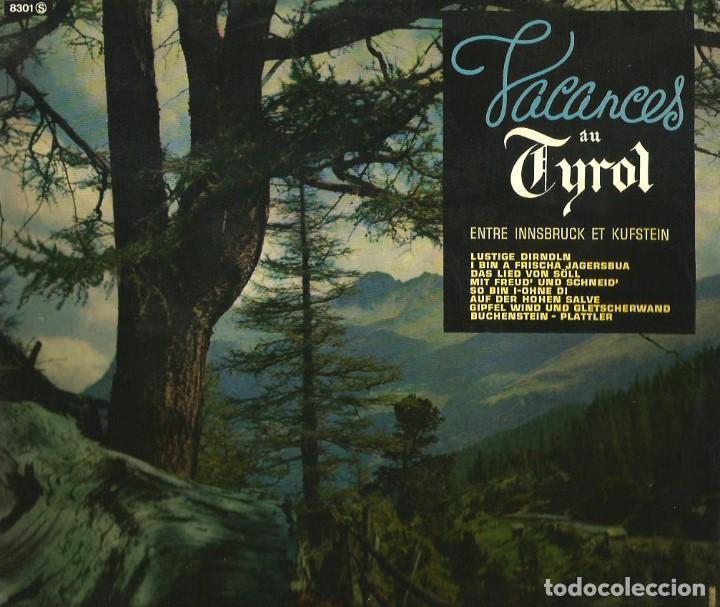 vacances au tyrol LP 10 PULGADAS : VACANCES AU TYROL ( ENTRE INNSBRUCK ET KUFSTEIN ) (Música -