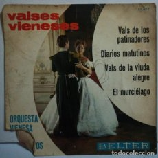 Discos de vinilo: VALSES VIENESES. Lote 108371119
