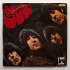 Discos de vinilo: THE BEATLES, PRIMERA EDICION EN ESPAÑA MONO 1966, RUBBER SOUL, LP VINILO. Lote 108380211