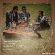 Dischi in vinile: DIGNO GARCIA Y SUS CARIOS-LA FELICIDAD/LA BANDA. Lote 108382863