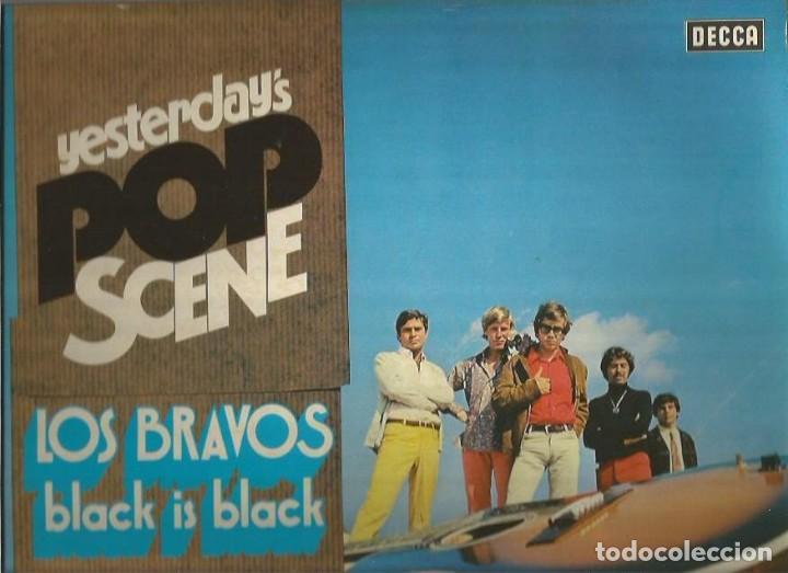 LOS BRAVOS LP SELLO DECCA EDITADO EN ALEMANIA AÑO 1974 (Música - Discos - LP Vinilo - Grupos Españoles 50 y 60)