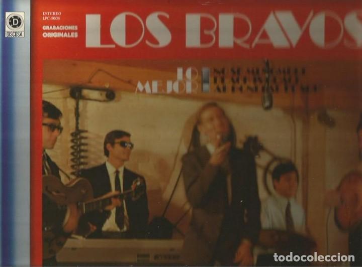 LOS BRAVOS LP SELLO DISCOSA EDITADO EN ESPAÑA AÑO 1981 (Música - Discos - LP Vinilo - Grupos Españoles 50 y 60)