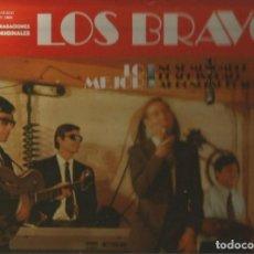 Discos de vinilo: LOS BRAVOS LP SELLO DISCOSA EDITADO EN ESPAÑA AÑO 1981. Lote 108391891