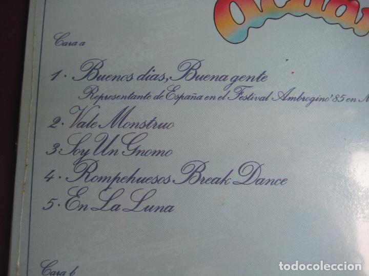 Discos de vinilo: ACUARELA LP MASA 1985 - monstruos, gnomos, osos, dragones y hamburguesas - tve television - parchis - Foto 3 - 108407659