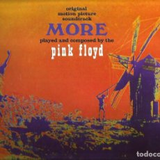 Discos de vinilo: LP PINK FLOYD : MORE ( FILM SOUNDTRACK PLAYED AND COMPOSED BY THE PINK FLOYD) EDICION CAPITOL. Lote 108408659