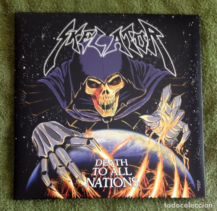 SKELATOR - DEATH TO ALL NATIONS 12'' LP GATEFOLD - HEAVY METAL SPEED METAL (Música - Discos - LP Vinilo - Heavy - Metal)
