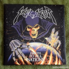 Discos de vinilo: SKELATOR - DEATH TO ALL NATIONS 12'' LP GATEFOLD - HEAVY METAL SPEED METAL. Lote 108416499
