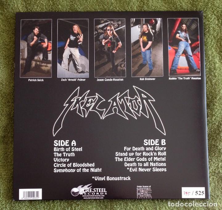 Discos de vinilo: SKELATOR - DEATH TO ALL NATIONS 12'' LP GATEFOLD - HEAVY METAL SPEED METAL - Foto 2 - 108416499