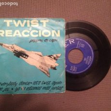 Discos de vinilo: PEPPINO DE CAPRI: TWIST A REACCION : EVERYBODY DANCE + 3 BELTER 50550. Lote 108427135