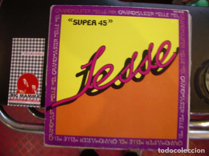 GRANDMASTER & MELLE MEL - JESSE / INSTRUMENTAL VERSION. (Música - Discos de Vinilo - Maxi Singles - Rap / Hip Hop)