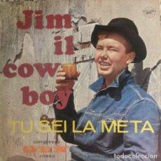 Discos de vinilo: COMPLESSO GEN ROSSO* – JIM IL COWBOY / TU SEI LA META SELLO: CITTA NUOVA FOLK ROCK RELIGIOSO RARO. Lote 108452615