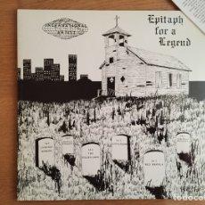 Discos de vinilo: EPITAPH FOR A LEGEND: 13TH FLOOR ELEVATORS, RED CRAYOLA , SPADES, LIGHTNIN HOPKINS (2 LPS). Lote 108456099