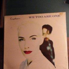Discos de vinilo: EURYTHMICS: WE TOO ARE ONE. LP ESPAÑOL. PRECINTADO. Lote 108471651