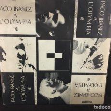 Discos de vinilo: PACO IBÁÑEZ - A L'OLYMPIA - 2 LP. Lote 108515171