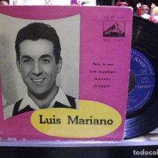 Discos de vinilo: LUIS MARIANO GRANADA / PARIS TE AMO + 2 EP SPAIN PDELUXE. Lote 108538771