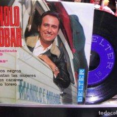 Discos de vinilo: MANOLO ESCOBAR TUS OJOS NEGROS + 3 EP SPAIN 1969 PDELUXE. Lote 108546451