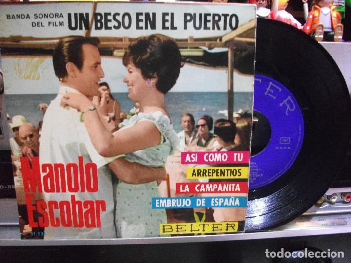 MANOLO ESCOBAR ASI COMO TU / EMBRUJO DE ESP EP SPAIN 1966 PDELUXE (Música - Discos de Vinilo - EPs - Solistas Españoles de los 50 y 60)