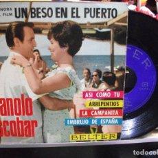 Discos de vinilo: MANOLO ESCOBAR ASI COMO TU / EMBRUJO DE ESP EP SPAIN 1966 PDELUXE. Lote 108548723