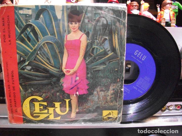 GELU QUINIENTAS MILLAS + 3 EP SPAIN 1963 PDELUXE (Música - Discos de Vinilo - EPs - Solistas Españoles de los 50 y 60)