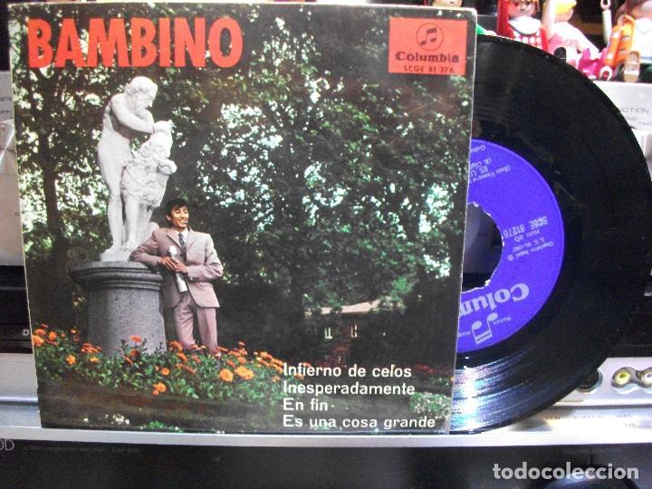 BAMBINO INFIERNO DE CELOS EP SPAIN 1967 PDELUXE (Música - Discos de Vinilo - EPs - Flamenco, Canción española y Cuplé)