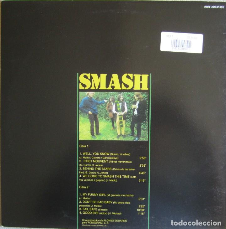 Discos de vinilo: SMASH: WE COME TO SMASH THIS TIME - Foto 2 - 108693647