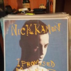 Discos de vinilo: NICK KAMEN ?– I PROMISED MYSELF (INDEPENDIENTE MIX). Lote 108698115