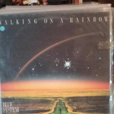 Discos de vinilo: BLUE SYSTEM ?– WALKING ON A RAINBOW. Lote 108699847