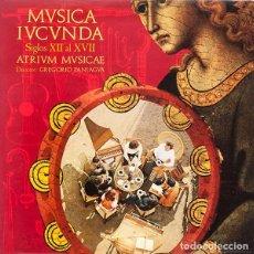 Discos de vinilo: MUSICA IUCUNDA ATRIVM MVSICAE. Lote 108700783