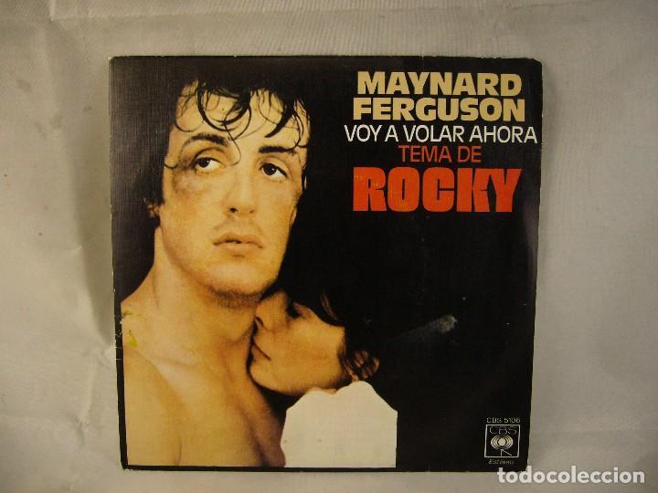 ROCKY - AHORA VOY A VOLAR - MAYNARD FERGUSON - DISCO VINILO 45 RPM (Música - Discos - Singles Vinilo - Bandas Sonoras y Actores)
