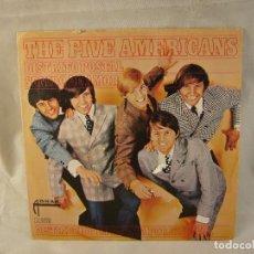 Discos de vinilo: THE FIVE AMERICANS....DISTRITO POSTAL. Lote 108705223