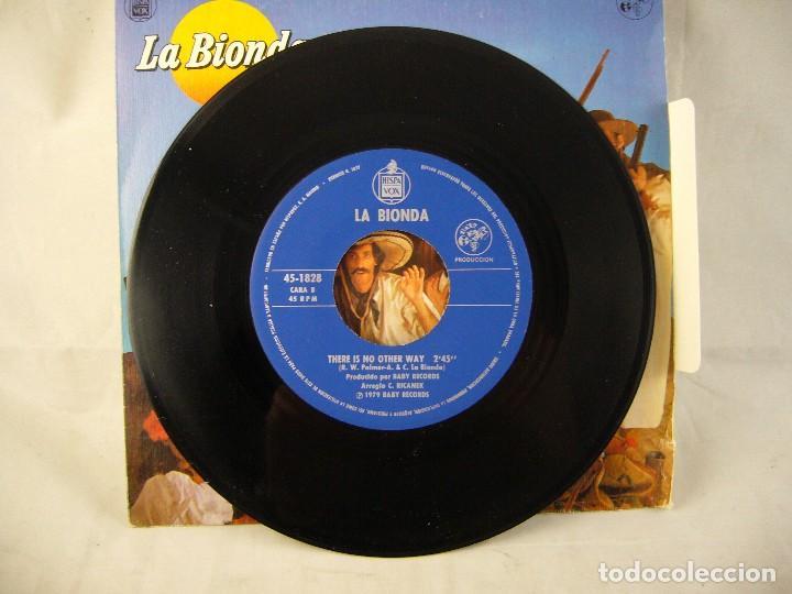 Discos de vinilo: LA BIONDA / BANDIDO (LP HISPAVOX DE 1979) - Foto 2 - 108708947