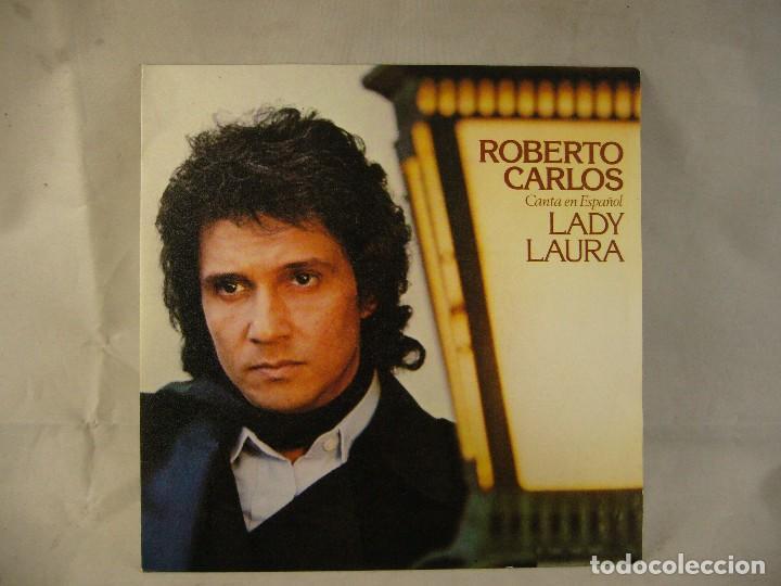 ROBERTO CARLOS-LADY LAURA (Música - Discos de Vinilo - Maxi Singles - Country y Folk)