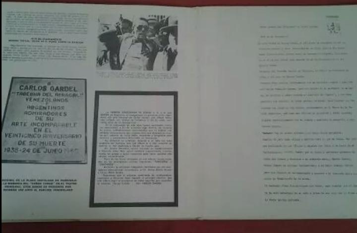 Discos de vinilo: 3 Lp vinilo 1963 Homenaje Carlos Gardel XVIII Aniversario Muerte Edición limitada Fotos y testamento - Foto 3 - 108723483