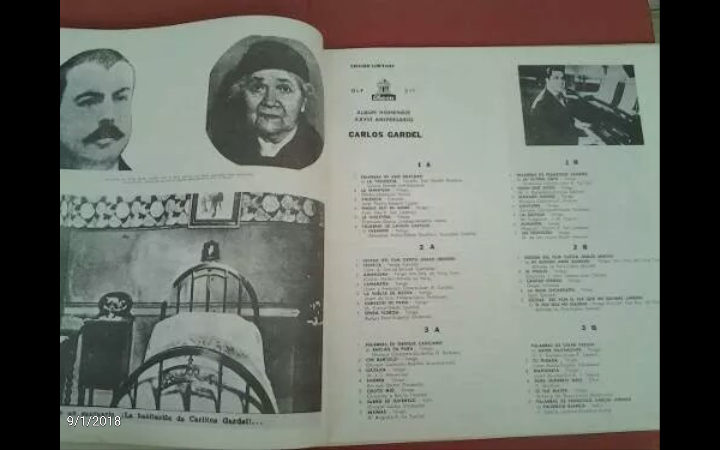 Discos de vinilo: 3 Lp vinilo 1963 Homenaje Carlos Gardel XVIII Aniversario Muerte Edición limitada Fotos y testamento - Foto 4 - 108723483