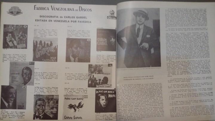 Discos de vinilo: 3 Lp vinilo 1963 Homenaje Carlos Gardel XVIII Aniversario Muerte Edición limitada Fotos y testamento - Foto 10 - 108723483