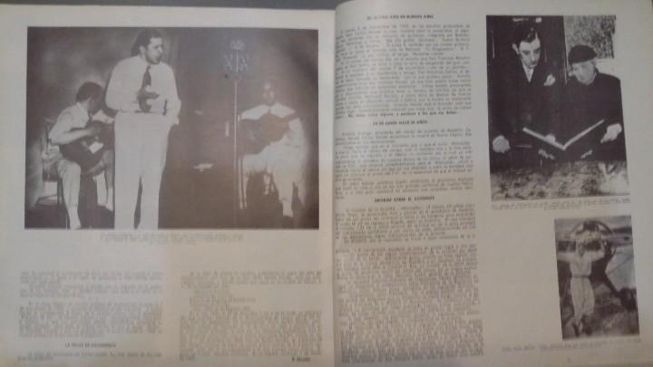 Discos de vinilo: 3 Lp vinilo 1963 Homenaje Carlos Gardel XVIII Aniversario Muerte Edición limitada Fotos y testamento - Foto 11 - 108723483