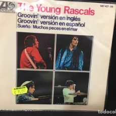 Discos de vinilo: THE YOUNG RASCALS - GROOVIN + 3 - EP. Lote 108737010