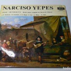 Disques de vinyle: NARCISO YEPES JEUX INTERDITS. Lote 108747063