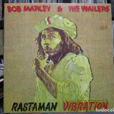 Discos de vinilo: BOB MARLEY & THE WAILERS - RASTAMAN VIBRATION (LP, ALBUM, GAT) . Lote 108752307