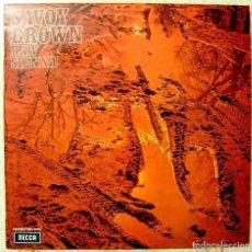 Discos de vinilo: SAVOY BROWN.RAW SIENNA.EDICION ORIGINAL ESPAÑOLA EN PERFECTO ESTADO...RARO. Lote 108752611