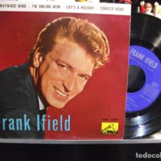Discos de vinilo: FRANK IFIELD TOBACO ROAD + 3 EP SPAIN 1963 PEPETO TOP. Lote 108752799