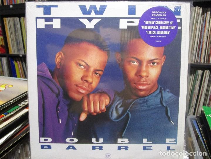 TWIN HYPE - DOUBLE BARREL (EP) (Música - Discos de Vinilo - EPs - Rap / Hip Hop)