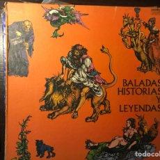 Discos de vinilo: BALADAS, HISTORIAS Y LEYENDAS. BOX. Lote 108765416