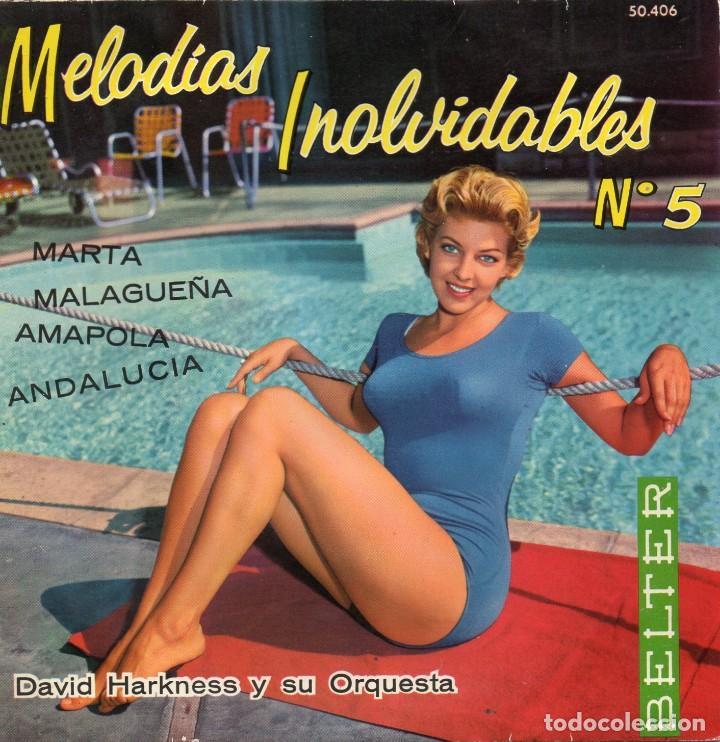 DAVID HARKNESS Y SU ORQUESTA, EP, MARTA + 3, AÑO 1961 (Música - Discos de Vinilo - EPs - Orquestas)